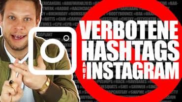 Verbotene Hashtags auf Instagram