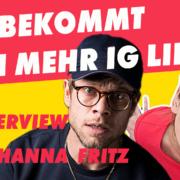 ?? Instagram Interview mit Johanna Fritz