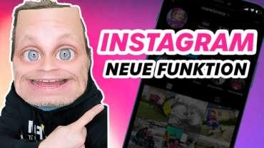 Instagram Neue Funktion für Accounts