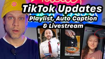 🏆TikTok Updates – Auto Caption, Playlist und Livestream | #FragdenDan