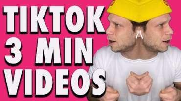 TikTok testet 3 Minuten Videos