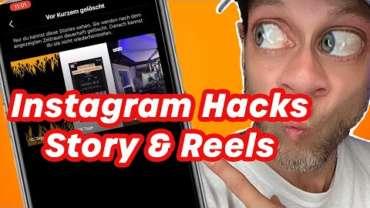 Instagram Hacks und Shortcuts – Story und Reels