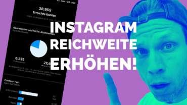 🔥 Instagram Reichweite erhöhen - Insights für Reels, Stories und IGTV | #FragdenDan #einfachdan
